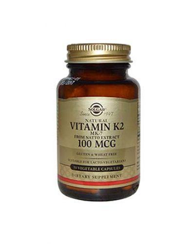 farmakeio365-SOLGAR Vitamin K2 100μg 50VEG.CAPS